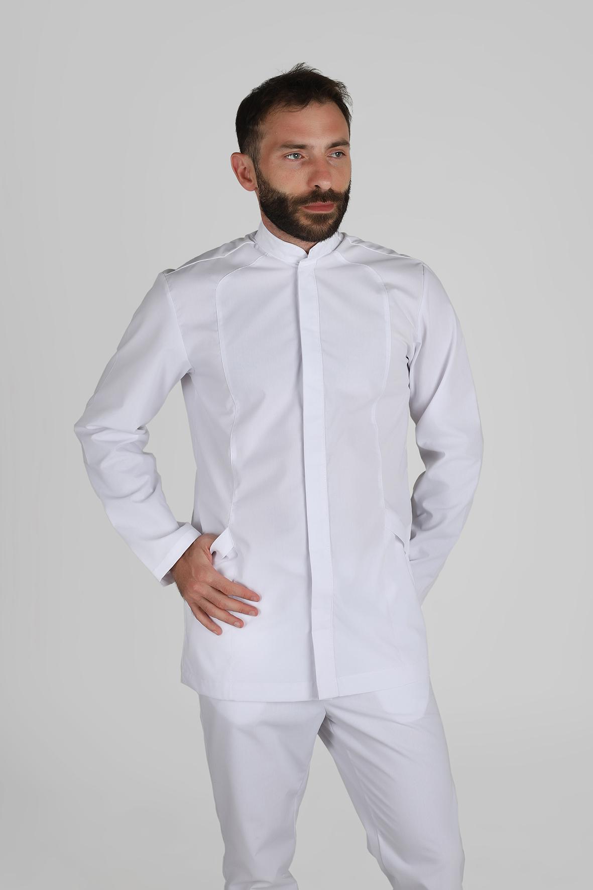 uniformes salud chaqueta prince