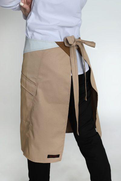 uniformes-gastronomia-delantal-de-cintura-recortes-bolsillos-atado-garden