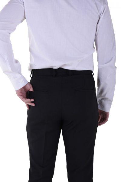 pan vestir hombre detalle bolsillos traseros